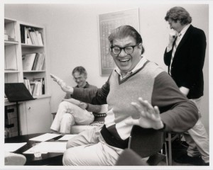 Morton Feldman. Photo: Betty Freeman