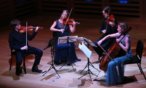 The Sacconi Quartet at Kings Place, London. Photo: Amy T Zielinski/Redferns