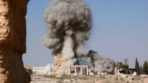 Falling in the Fire: The ISIL-led destruction of ancient temples in Palmyra was a catalyst to Charlotte Bray's inspiration