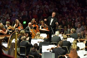 Sakari Oramo and the BBC Symphony Orchestra. Photo (c) Chris Christodoulou